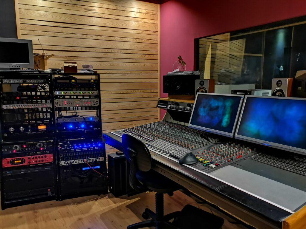 Estudio de grabación - Iker Arranz